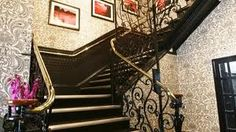 Star and garter stairs - use shapes on invites?