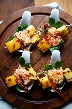 Tropical-Shrimp-Bites-with-Hidden-Valley-Mango-Chipotle-Vinaigrette-#whipperberry #hiddenvalleyit
