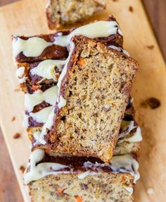 Carrot Pineapple Banana Bread with Browned Butter Cream Cheese Frosting | 25 Mouthwatering Banana Bread Recipes