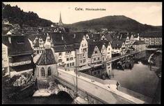 old Calw  Germany; /Postcode 75... /75365 Calw + area; /Pc Calw Schwarzwald, ...    akpool.co.uk
