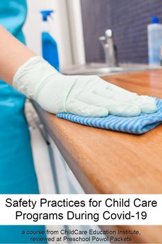 Just in time! This course from ChildCare Education Institute teaches the safety practices we need for child care programs during COVID-19! #preschool #professionaldevelopment #preK #sponsored