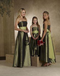 Fall Wedding Colors Bridesmaid Dresses | Beautiful wedding dress: colored fall wedding dresses