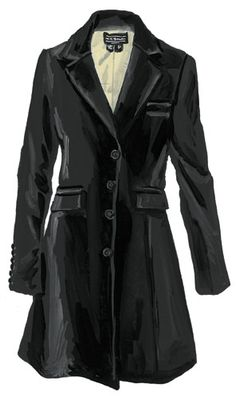 Long Velvet Blazer...like something out of a Downton Abbey hunting party which means its perfect