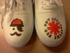 Custom Band Shoes by creativechicks1 on Etsy, $50.00