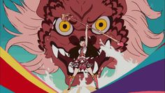 Japanese girlsband Momoiro Clover Z animated by Sushio (Kill la Kill character-designer & animation director).