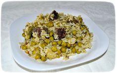 Ρυζότο με σουτζούκι, αρακά, κολοκυθάκια Grains, Rice, Food, Risotto, Meals, Yemek, Laughter, Jim Rice, Eten