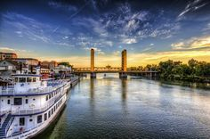 Riverfront - Sacramento...loved to visit when mom and dad lived here