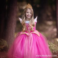Princesa Aurora Tiara hecha a mano con cristales Swarovski