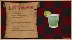 15 Magical Harry Potter Cocktails to Charm Your Palate – Kuchen-Rezepte Potion Harry Potter, Harry Potter Cocktails, Harry Potter Food, Harry Potter Actors, Harry Potter Theme, Party Drinks, Cocktail Drinks, Fun Drinks, Alcoholic Drinks