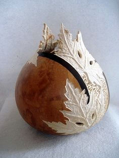 carved gourd - Joanna Helphrey