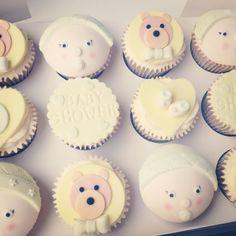 Neutral Baby Shower Cupcakes : Gender neutral baby shower cupcake toppers Baby Shower ...