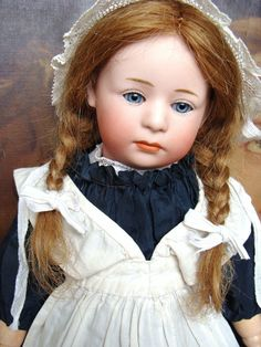 Adorable antique Heubach Pouty Bebe, mould 6969 from les-fees-du-temps on Ruby Lane
