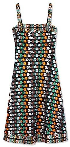 Tory Burch Floral Mesh Dress