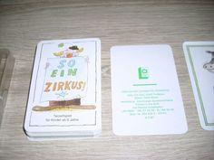 So ein Zirkus! Terzettspiel ab 5 Jahre unbespielte Karten Altenburg DDR