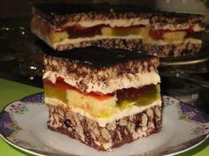 "Domowe ciasta i obiady: Ciasto ""Salceson"" Sweet Recipes, Cake Recipes, Cinnamon Roll Pancakes, Polish Recipes, Yummy Food, Tasty, Pastry Cake, Pumpkin Cheesecake, Food Cakes"