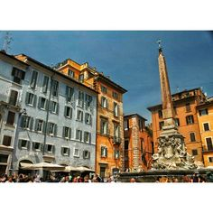 One of my favorite Romans squares, Piazza della Rotonda – another must see in this city,