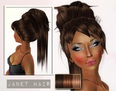 *Mayden couture* - Janet Brown Hair