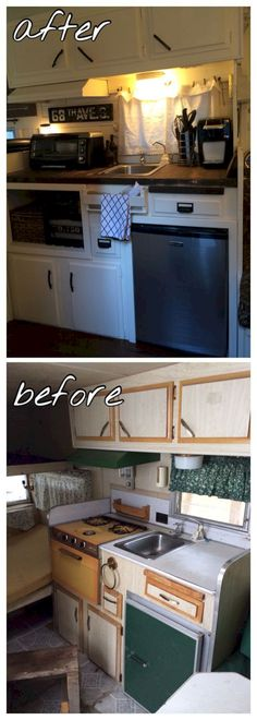 Top 42+ Amazing RV Camper Makeover Ideas Before And After Collections https://decoor.net/42-amazing-rv-camper-makeover-ideas-before-and-after-collections-798/