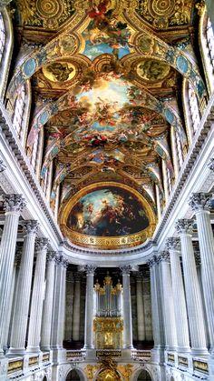 Chapel at Versailles Palace