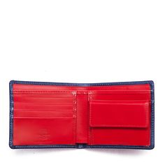 ホワイトハウスコックス | S7532 COIN WALLET / BRIDLE 2TONE (MARINE/RED)
