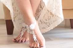 new ideas wedding dresses ivory lace bridal shoes Lace Bridal Shoes, Wedding Shoes, Wedding Lace, Wedding Dresses, Gift Wedding, Floral Wedding, Barefoot Sandals Wedding, Bare Foot Sandals, Ivory Sandals