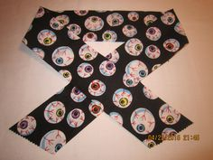 """Extra Wide 3"""" Reusable Non-Toxic Cool Wrap / Neck Cooler  - Kids Prints - Boys - Eyeballs on Black by ShawnasSpecialties on Etsy"""