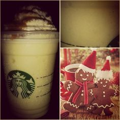 Just Added : *GINGERBREAD NOG FRAPPUCCINO* !! rich with eggnog, creamy and most importantly, it's delicious! [SecretStarbucks.com]