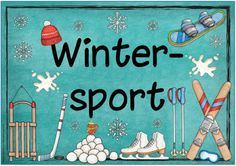 "Ideenreise: Themenplakat ""Wintersport"""