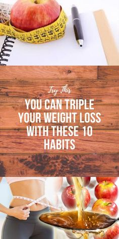 You Can Triple Your Weight Loss With These 10 Habits - Informationen zu You Can Triple Your Weight Loss With These 10 Habits Pin Sie können mein Profil g - Health And Fitness Articles, Health And Nutrition, Health And Wellness, Health Fitness, Woman Fitness, Healthy Habits, Healthy Tips, Healthy Recipes, Healthy Food
