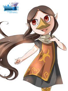 Médolie est une fille du peuple Piaf, sorte de prêtresse de Valoo. Elle deviendra le Sage du Temple de la Terre. Link aura besoin de Médolie au Temple de la Terre pour donner la moitié du pouvoir de l'Excalibur.