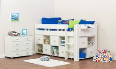 Stompa Uno 4 - Cabin Bed (boy)