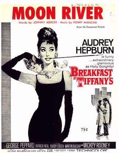 Moon River from Breakfast at Tiffany's...We had this on an album...or was it the sheet music?