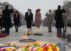 King Willem-Alexander and Queen Maxima visit to France