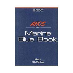 Abos Marine Blue Book 1969-1987: 2000 Edition