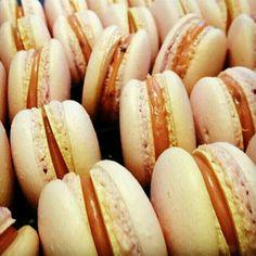 Caramel macarons..