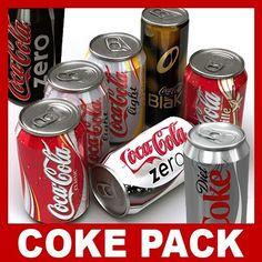 http://www.turbosquid.com/3d-models/coca-cola-coke-cans-c4d/546904