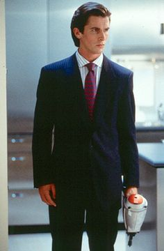 Patrick Bateman-- American Psycho...  It's a media-product of the disorder but it's pretty funny (in a sick kind of way)
