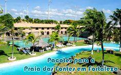 Pacotes Praia das Fontes em dezembro a partir de R$ 339 #pacotes #praiadasfontes #viagem #2016