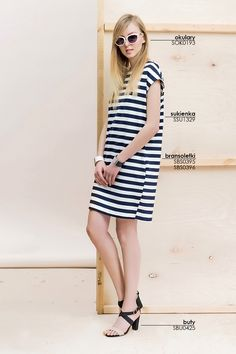 #Sukienka w paski #Topsecret