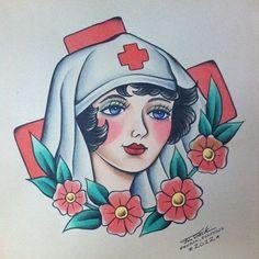 traditional nurse flash