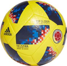 b1e6579a5 adidas 2018 FIFA World Cup Russia Colombia Supporters Glider Soccer Ball