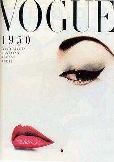 Vintage vogue cover - Vivian Home Capas Vintage Da Vogue, Vogue Vintage, Vintage Vogue Covers, Vintage Glam, Fashion Vintage, Vintage Beauty, 1950s Fashion, Graphic Design Magazine, Magazine Cover Design