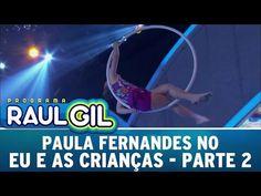 Programa Raul Gil (28/11/15) - Paula Fernandes no Eu E As Crianças - Parte 2 - YouTube Raul Gil, Tv, Youtube, Television Set, Youtubers, Youtube Movies, Television