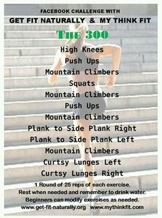 The 300 - get fit