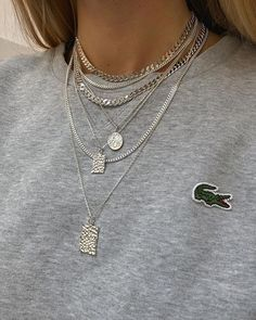Initial Necklace/ Sideways Initial Necklace/ Monogram Necklace in Solid Gold/ Personalized Monogram Necklace/ Personalized Jewelry - Fine Jewelry Ideas - Jewelry Design Jewelry design 2020 Jewelry Ideas 2020 Silver Chain Necklace, Initial Necklace, Silver Necklaces, Silver Jewelry, Pendant Necklace, Gold Bracelets, Silver Earrings, Silver Ring, Silver Chains