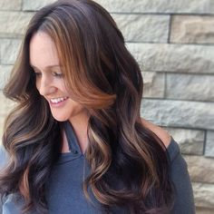 "11 Likes, 1 Comments - KC Beauty (@kyliecrinnianbeauty) on Instagram: ""All about placement. #hairbykcbeauty #kcbeauty #kansascity #hairpainting #balayage #brunettes…"""