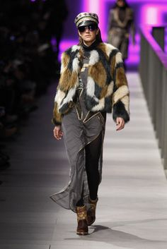 #CustoBarcelona #FW/2014-15 #Catwalk #trends #furry  #080BarcelonaFashion #Barcelona
