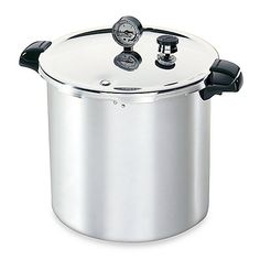 Presto 21 litre Pressure Mason Jar Canner / Cooker - Includes NEW 3 Piece Regulator! - Presto Pressure Canner - Canning and Preserving Supplies. Low Acid Recipes, Canning Vegetables, Freezing Vegetables, Cocinas Kitchen, Electric Cooker, Pressure Canning, Tips & Tricks, Cooking Tools, Canning Recipes