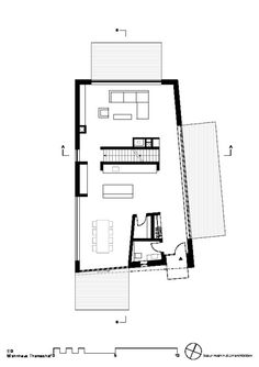 Ansicht Erdgeschoss - Wohnhaus Thomashof