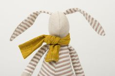 Little Easter bunny  dressed for spring in beige by TIMOHANDMADE, $46.00